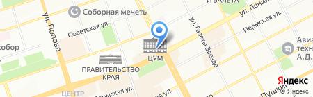Карусель на карте Перми
