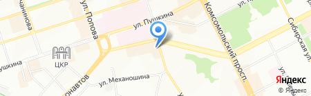 Гарант-Пермь на карте Перми