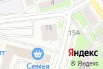 Схема проезда до компании Неболит в Перми