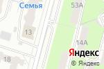 Схема проезда до компании А ААБА 111 в Перми