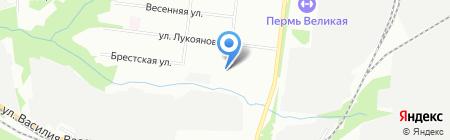 Детский сад №69 на карте Перми