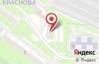 Схема проезда до компании Пермкомснаб в Перми