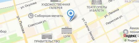 Газпром межрегионгаз Пермь на карте Перми