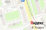 Схема проезда до компании Швейная мастерская в Перми