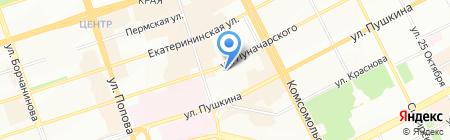 Банкомат Росгосстрах Банк на карте Перми