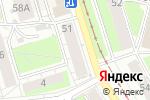 Схема проезда до компании Пермская деревянная игрушка Долодом в Перми