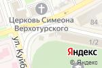 Схема проезда до компании Интерком-Л в Перми