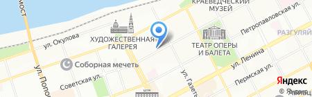 Банкомат РОСТ БАНК на карте Перми