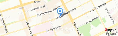 Elena Miro на карте Перми