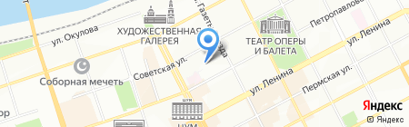ИСТ Кама на карте Перми