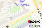 Схема проезда до компании Матрешка в Перми