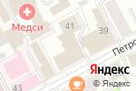 Схема проезда до компании ИНФОФЛОТ в Перми