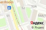 Схема проезда до компании Пермский Центр Недвижимости в Перми