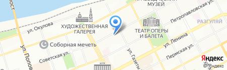 Фундамент на карте Перми
