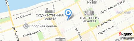 Радомир на карте Перми