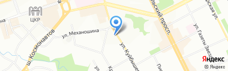 Текс-Колор Пермь на карте Перми