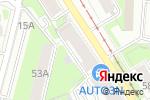 Схема проезда до компании Кайман Профи в Перми