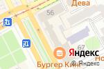 Схема проезда до компании GSM в Перми