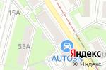 Схема проезда до компании Bestia в Перми