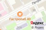 Схема проезда до компании Медика Маркет в Перми