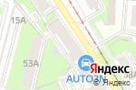 Схема проезда до компании Romada в Перми