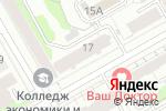 Схема проезда до компании Адвокатский кабинет Субботин А.В в Перми