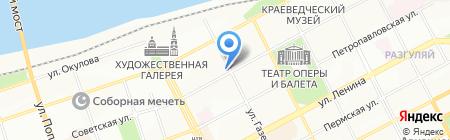 АКТИВ-Недвижимость на карте Перми