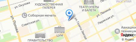 Школа стрижек на карте Перми