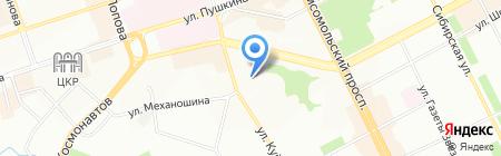 Адресат на карте Перми