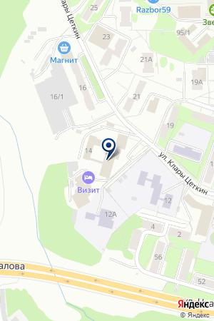 ШКОЛА ПРОФЕССИОНАЛЬНОГО ОБУЧЕНИЯ ШКОЛА ПРОФЕССИОНАЛЬНОГО РАЗВИТИЯ на карте Перми