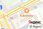 Схема проезда до компании ВИЗИОН в Перми