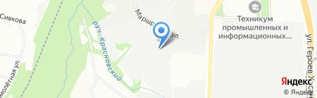 Дека на карте Перми