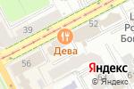 Схема проезда до компании ЧердаКк в Перми