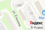 Схема проезда до компании Хищник в Перми