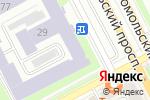 Схема проезда до компании Региональный центр информатизации в Перми