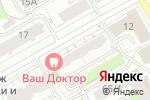 Схема проезда до компании Sweetness в Перми