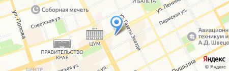 Павлотти на карте Перми