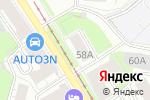 Схема проезда до компании УралПрибор в Перми