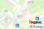 Схема проезда до компании Женская консультация №1 в Перми