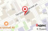 Схема проезда до компании Сезам 2 в Перми