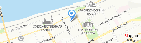 Технопол на карте Перми