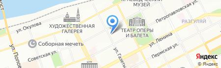 Нотариус Саркисова И.П. на карте Перми