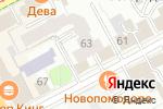 Схема проезда до компании Кошка в Перми