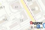 Схема проезда до компании Romantic в Перми