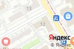 Схема проезда до компании Краевая организация профсоюза строителей в Перми