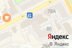 Схема проезда до компании Архив-комплект в Перми