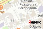 Схема проезда до компании Сommode в Перми