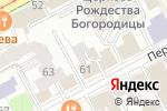 Схема проезда до компании Пермская слобода в Перми