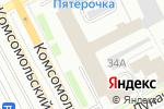Схема проезда до компании Онист Групп в Перми