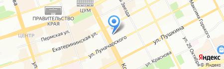 Атлас на карте Перми